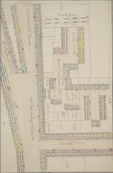 [Plan of the property east of Grey Friars]